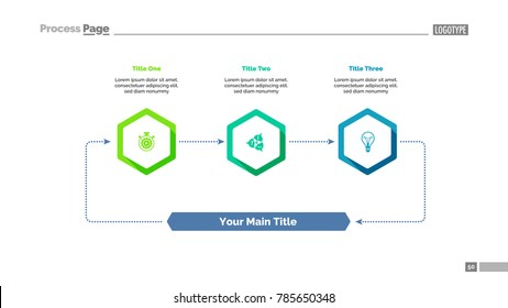 Three Elements Cycle Slide Template