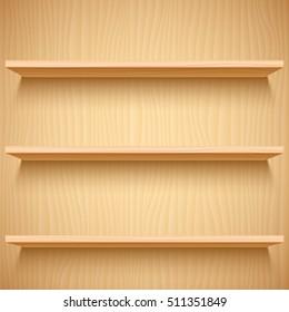 Empty Bookshelf High Res Stock Images Shutterstock