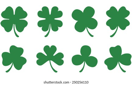 Three & Four Leaf Clovers