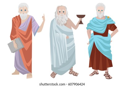 three great greek philosophers