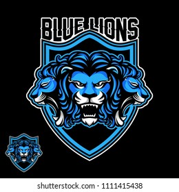 Three lion sport logo
