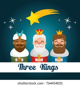 the three magic kings of orient cartoons