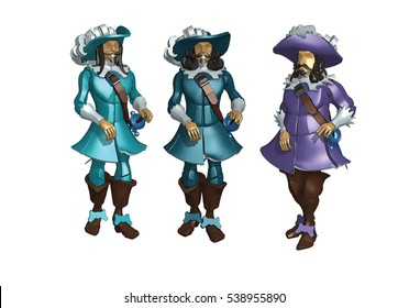 three musketeers image cartoon ather quakity