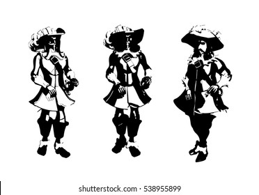 musket images stock photos vectors shutterstock Cavalry Carbine three musketeers image cartoon grey