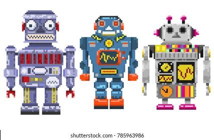 Imágenes Fotos De Stock Y Vectores Sobre Pixel Art Model