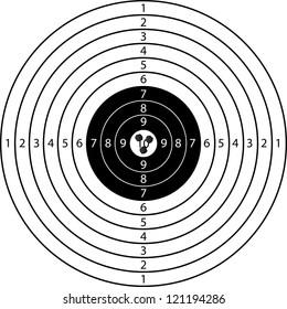 three shots on target sport