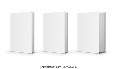 three vector books