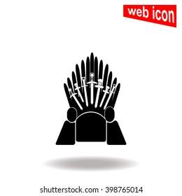 Throne icon.