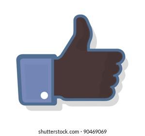 Thumb Up 2 - Black