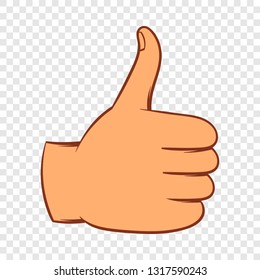 cartoon thumb up images stock photos vectors shutterstock https www shutterstock com image vector thumb gesture icon cartoon style on 1317590243