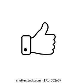 Thumb up icon symbol