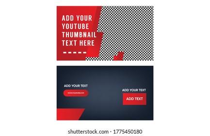 thumbnails template design - vector