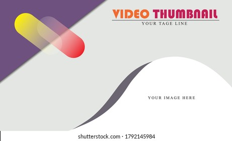thumbnails with various purposes and video models