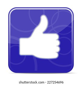 Thumbs up icon - vector illustration (EPS10), you can simply change color