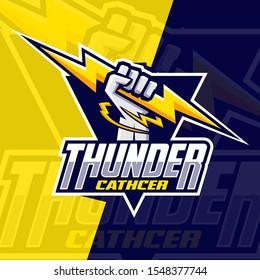 thunder chatcher, lighting  esport logo