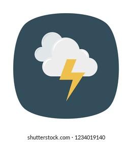 thunder cloud. storm