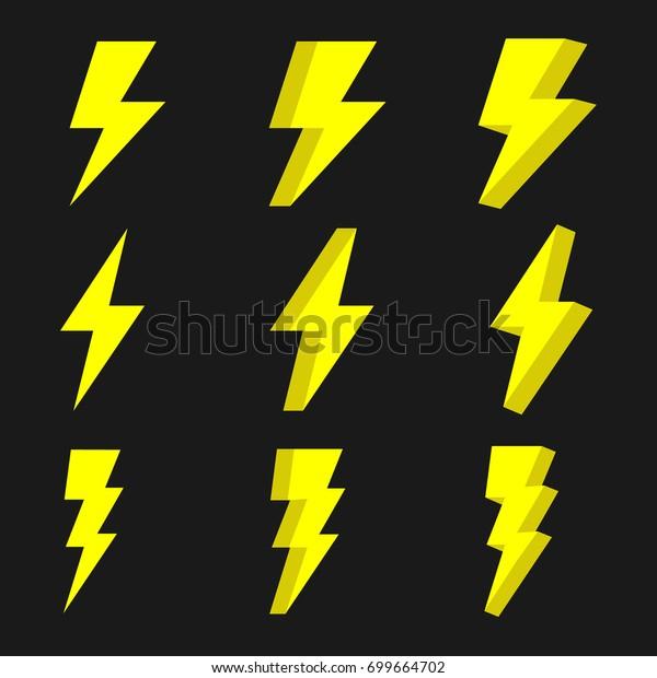 thunder thunder vector stock vector royalty free 699664702 https www shutterstock com image vector thunder vector 699664702