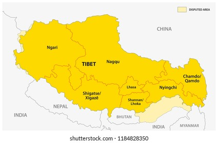 Lhasa China Map.Lhasa Tibet Stock Illustrations Images Vectors Shutterstock