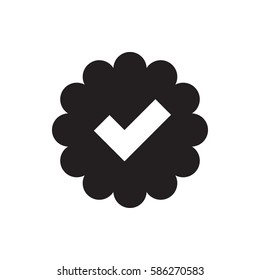tick icon illustration