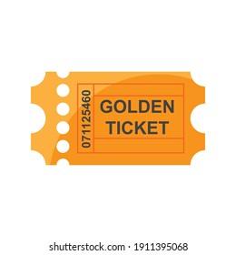 ticket cinema design vector logo