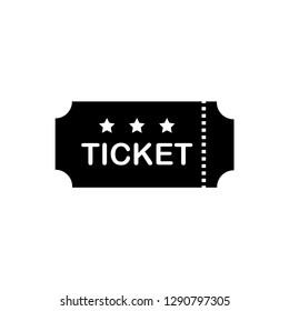 ticket icon logo vector template