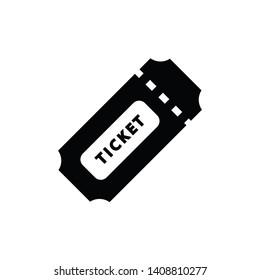 ticket icon vector design illustration