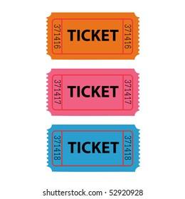 Ticket Illustration