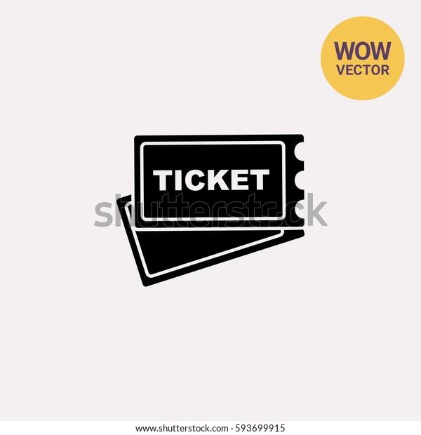 Ticket simple icon
