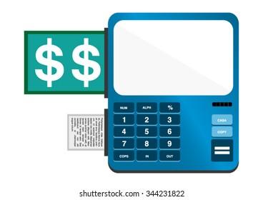 Tickets Terminal - Cash box
