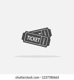Tickets vector icon