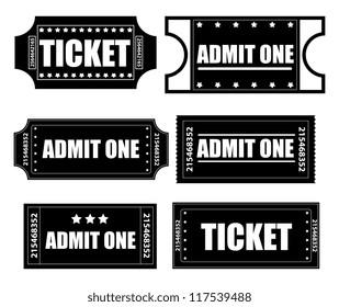 Tickets Vectors