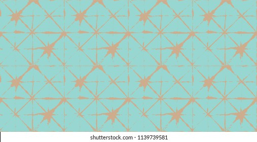 Tie Dye Ornament, Painted Kimono Organic Texture. Wabi Sabi, Tie Dye, Ikat Traditional Fashion. Painted Stripes Asian Boho Geo Pattern Fashion Background. Watercolor Kimono Retro Texture.