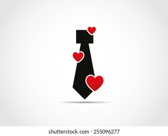 Tie Love Valentine Job Employee