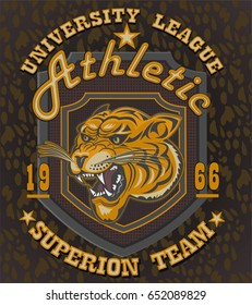 Tiger Athletic team