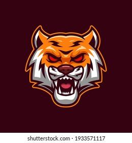 Tiger E-sports Logo Mascot Template