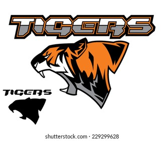 Tiger graphic logo