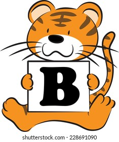 Image result for letter B tiger