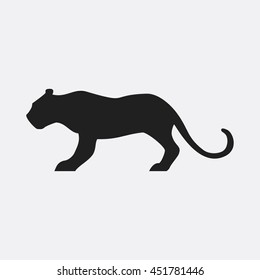 Tiger icon illustration isolated vector sign symbol