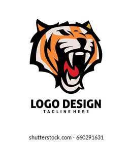 Tiger Logo Images, Stock Photos & Vectors | Shutterstock