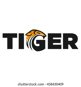 tiger logo vector illustration.
