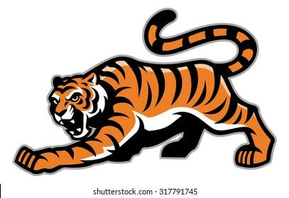 tiger mascot images stock photos vectors shutterstock rh shutterstock com clemson tiger mascot clipart