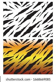 Tiger Pattern Background Pattern Tiger Pattern Black And White