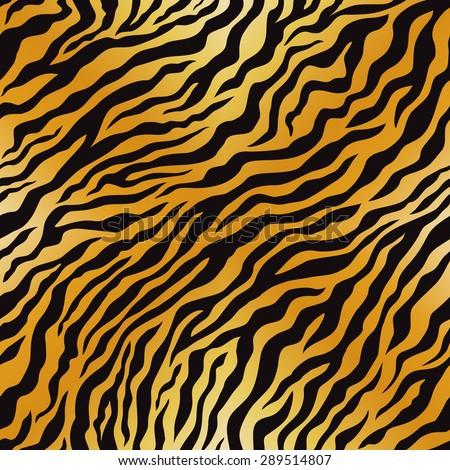 Tiger Pattern Vector Seamless Stock Vector Royalty Free 40 Custom Tiger Pattern