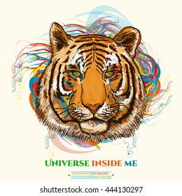 Galaxy Tiger High Res Stock Images Shutterstock