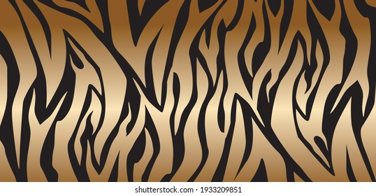 tiger skin abstract background vector