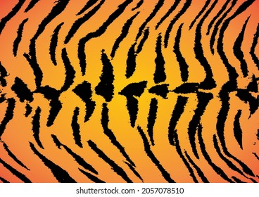 Tiger skin texture vector background. You can use this background for your content such as digital imagery or manipulation, video content, social media concepts, etc.