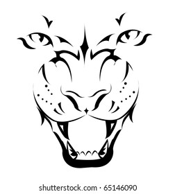 Tribal Tiger Tattoo Images Stock Photos Vectors Shutterstock