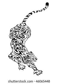 Tiger Tatuering