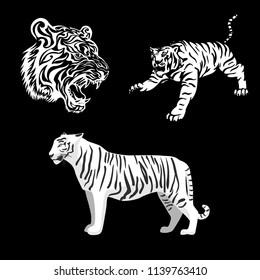 tiger vector set
