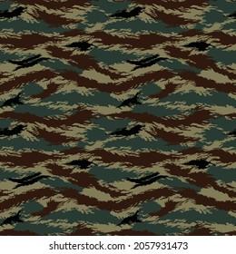 Tigerstripe  camouflage seamless army pattern